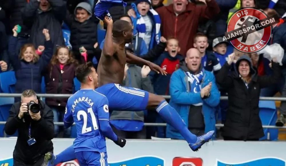 Cardiff City, Sol Bamba'nın 90. dakikada attığı golle kazandı