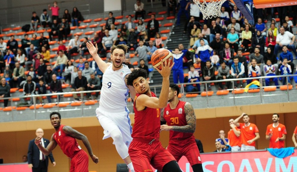 Galatasaray, deplasmanda İstanbul Büyükşehir Belediyespor'u 77-69 yendi