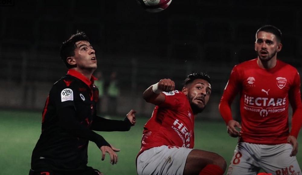 Umut Bozok penaltı kaçırdı Nimes sahasında kaybetti!