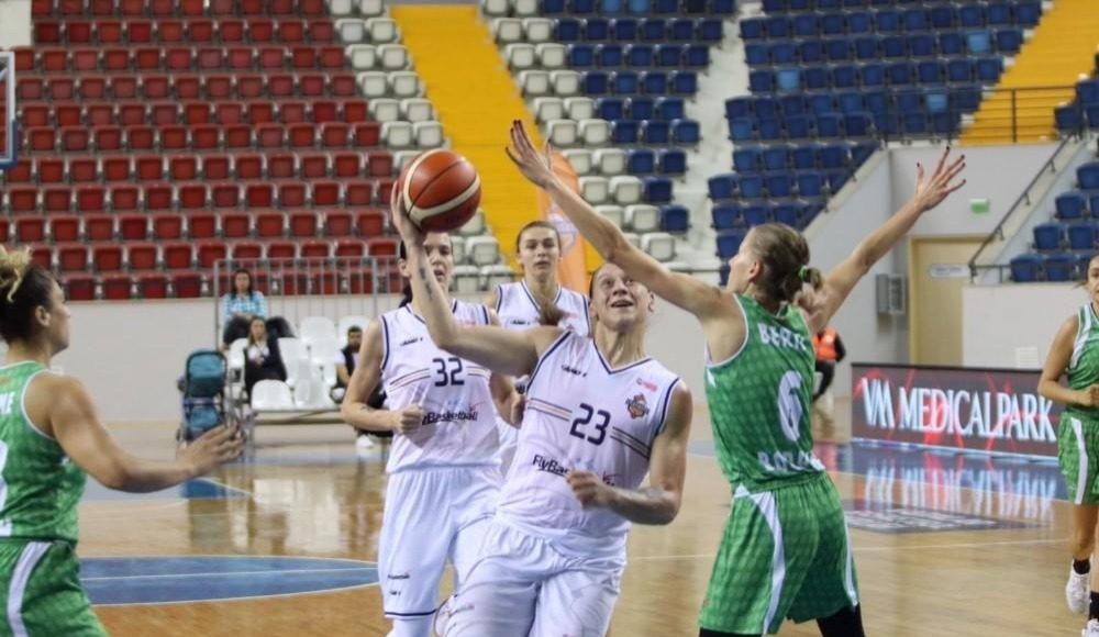Çukurova Basketbol, sahasında Kırçiçeği Bodrum'u 105-54 yendi!
