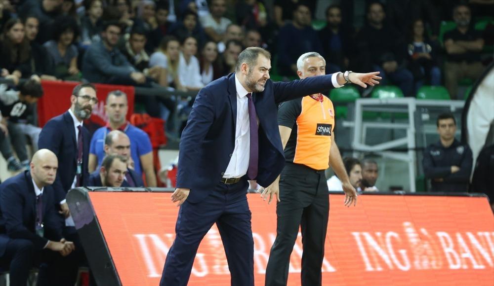 """Stefanos Dedas: """"Güzel bir maç oldu. İki takımda kazanmaya yakındı"""""""