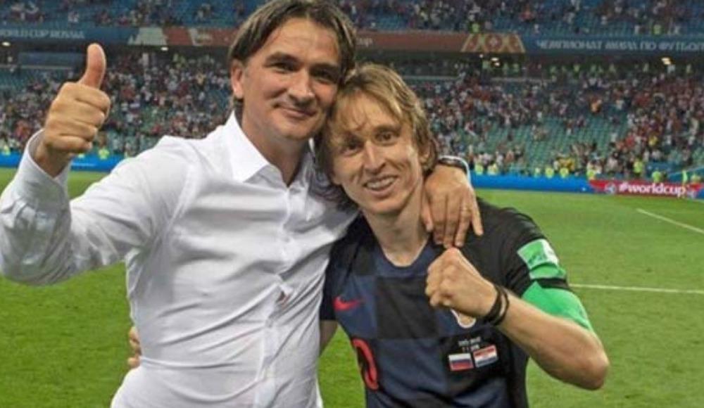 """Dalic: """"Modric'ten asla şüphe duymadım!"""""""