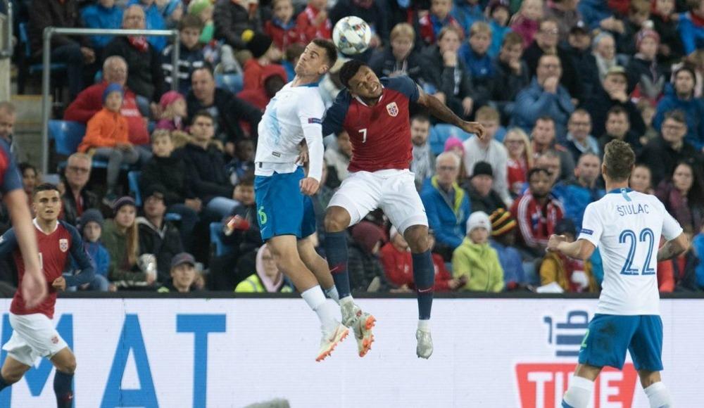 Slovenya ile Norveç 1-1 berabere kaldı