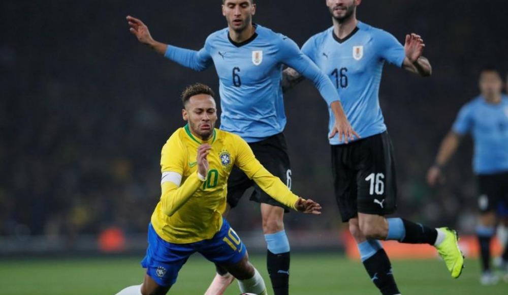 Brezilya, Uruguay'ı mağlup etti