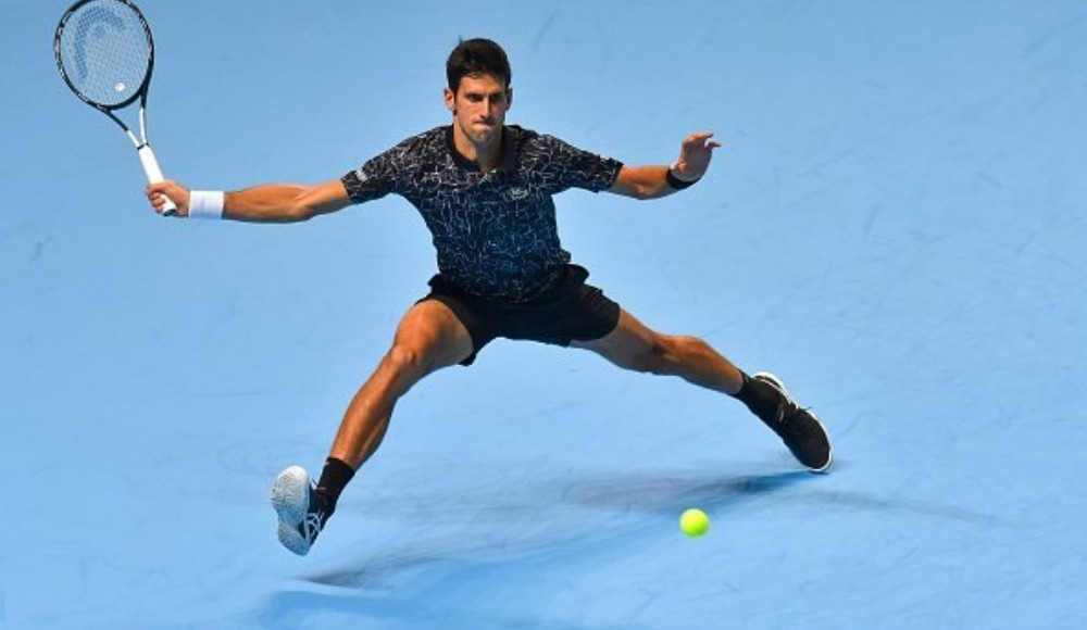 Djokovic set kaybetmeden lider tamamladı!