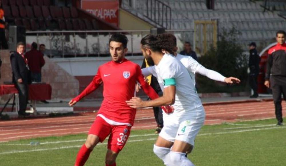 Elaziz Belediyespor: 0 - Adıyaman 1954: 1