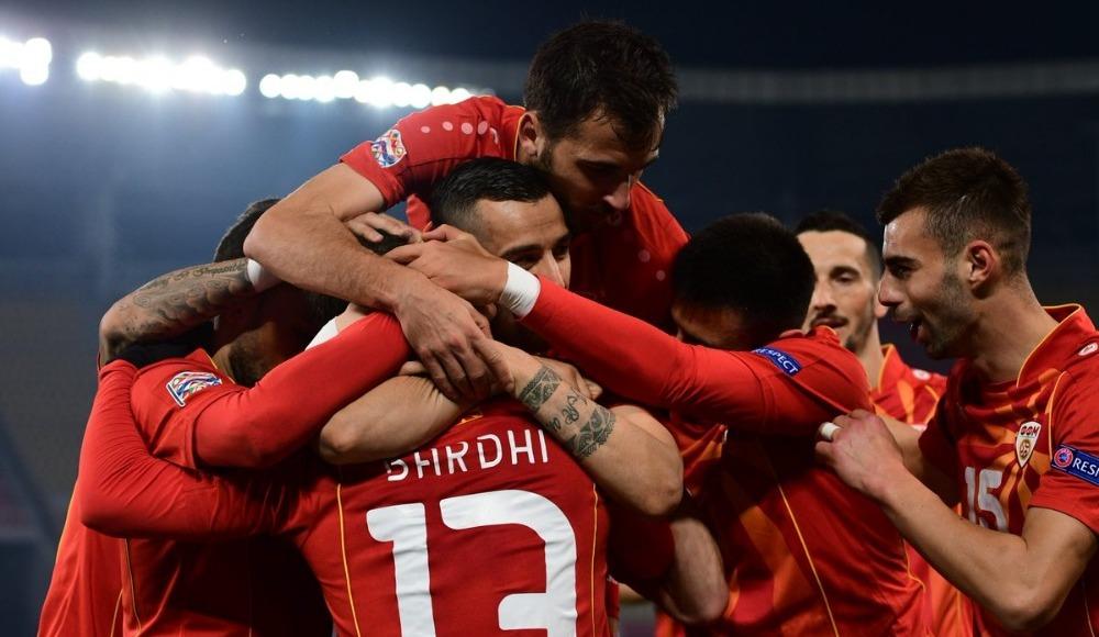 Makedonya, Cebelitarık'ı 4 golle geçti