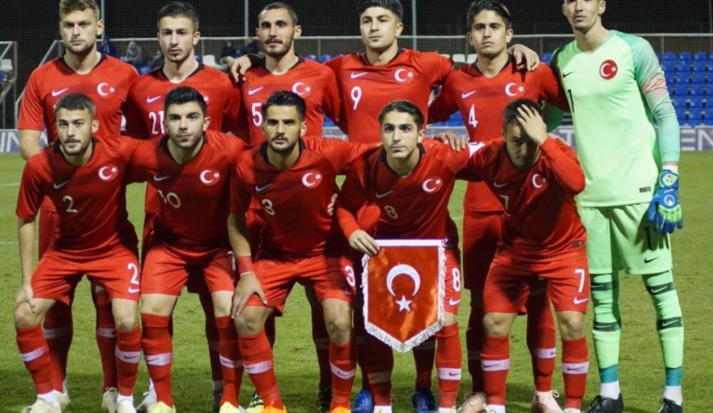Ümit Milli Futbol Takımı, İspanya'da Norveç ile yaptığı hazırlık maçını 3-2 kaybetti