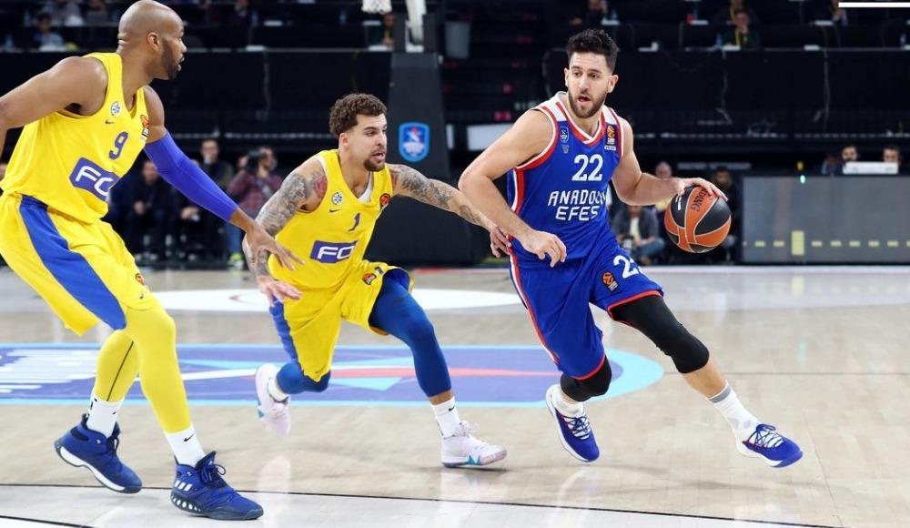 Maccabi - Anadolu Efes maçı için flaş karar