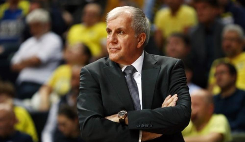 """Zeljko Obradovic: """"Bugün oynadığımız basketboldan çok memnunum"""""""
