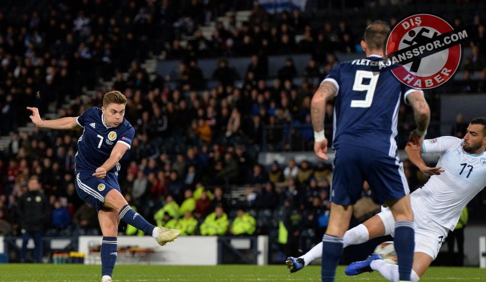 İskoçya-İsrail maçında tam 5 gol!