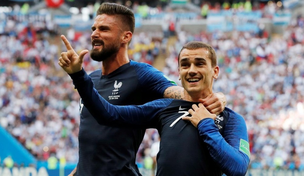 Fransa, Uruguay'ı penaltı golüyle geçti