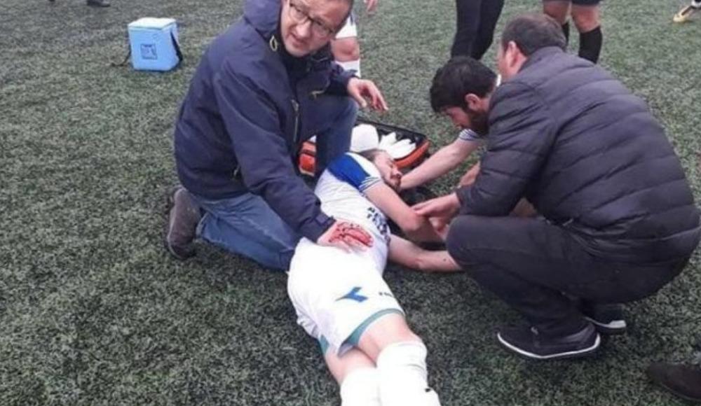 Futbolcusunun o halini gören kulüp başkanı gözyaşlarını tutamadı