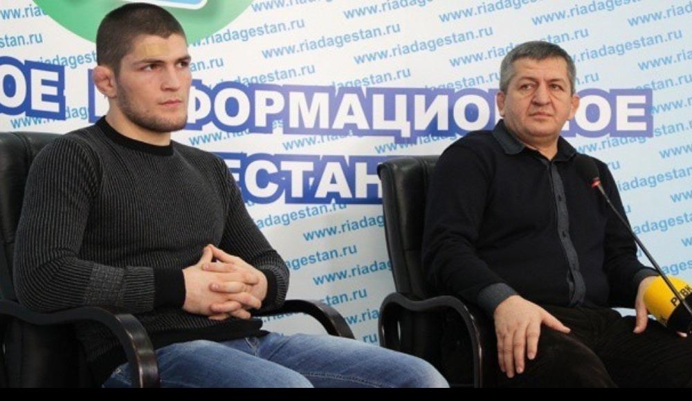 Khabib Nurmagomedov'un babasından bomba açıklamalar!