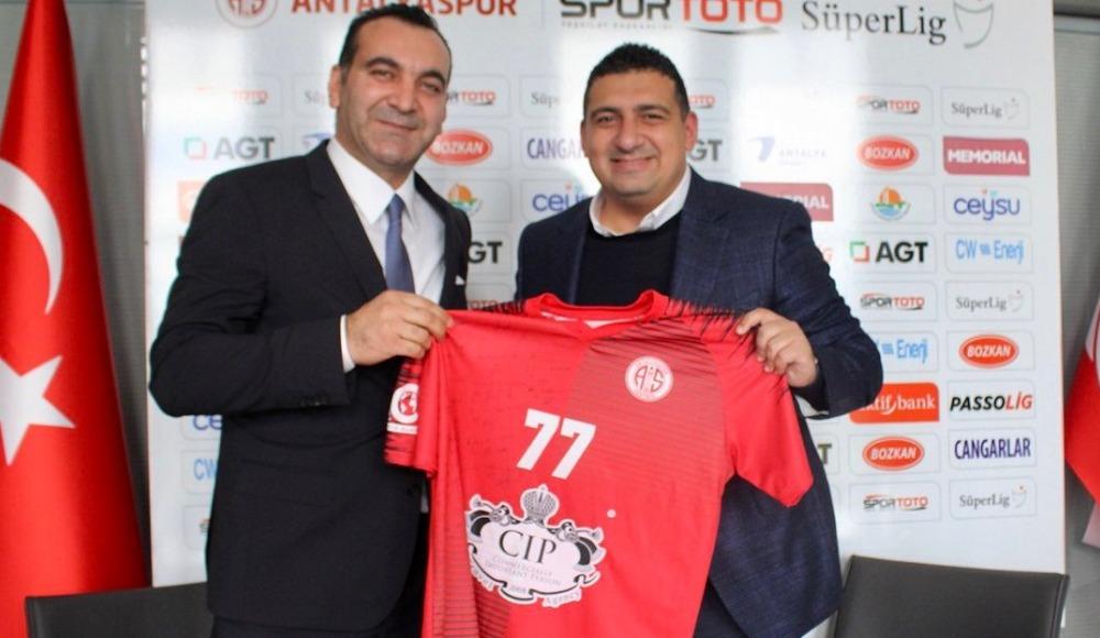 Cıp Travel Agency, Antalyaspor Hentbol Takımı'na sponsor oldu