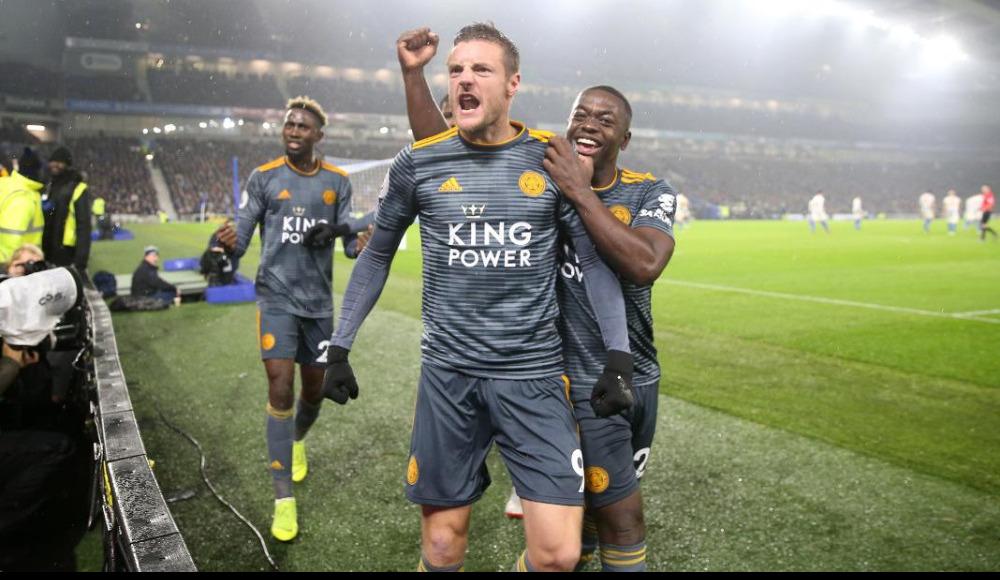 Özet - Leicester'ı yenilgiden Vardy kurtardı