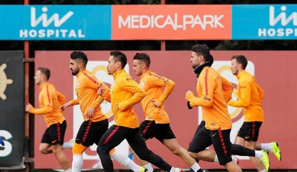 Galatasaray'da Şampiyonlar Ligi mesaisi devam etti