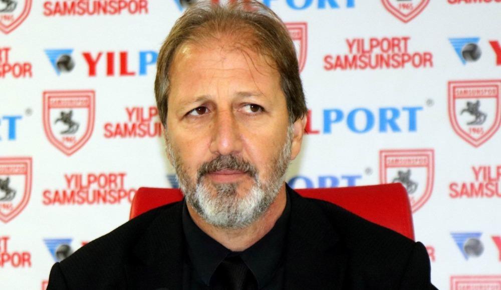 """Taner Taşkın: """"Buraya gelen takımlar Samsunspor'dan korkuyor"""""""