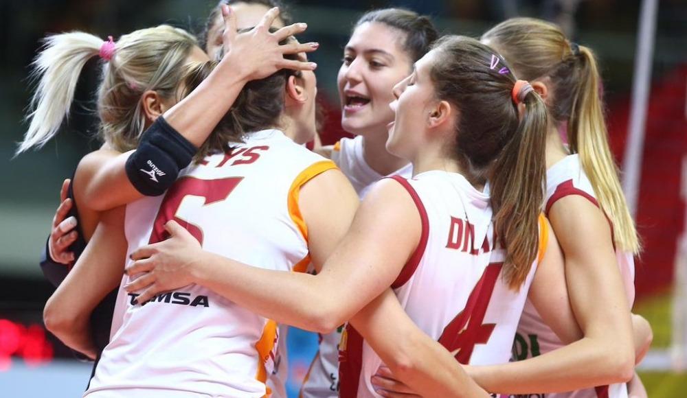 Galatasaray, Romanya ekibi CSM Targoviste'yi 3-0 yendi