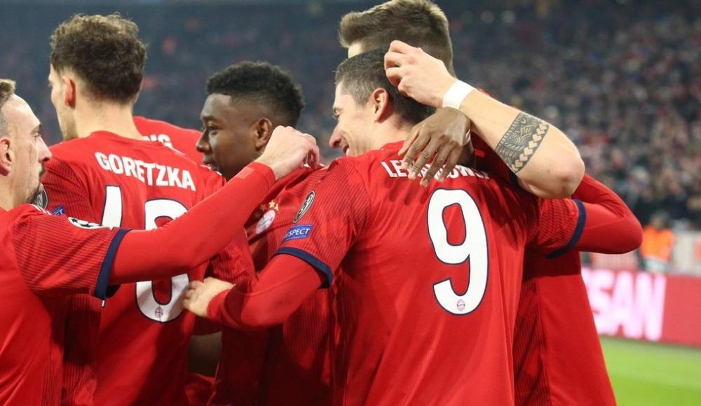 Bayern Münih, Benfica'yı gole boğdu! 5-1