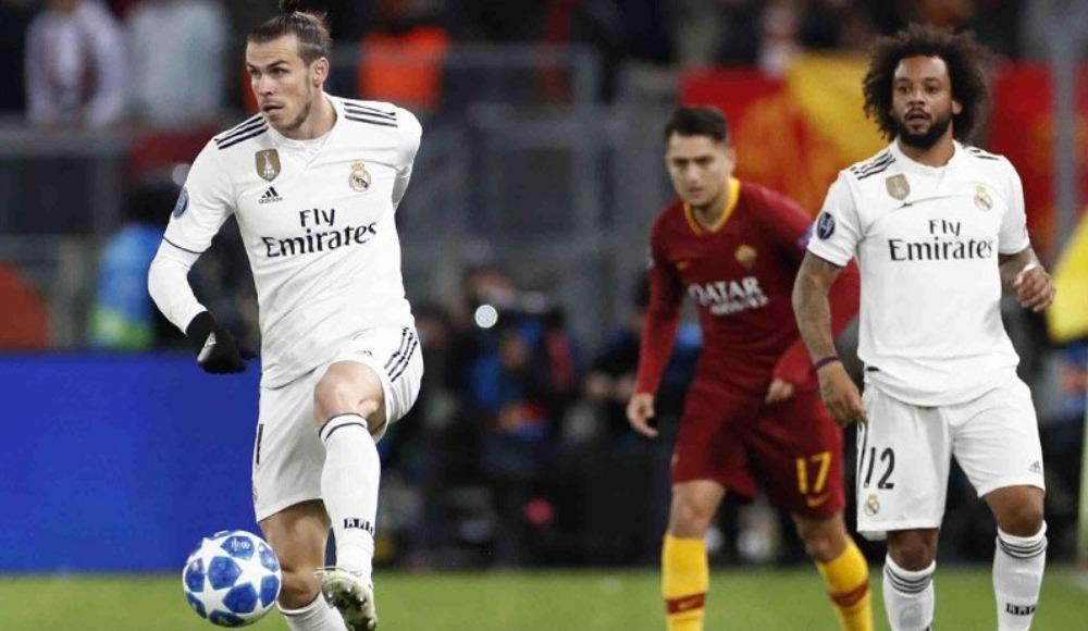 Real Madrid deplasmanda Roma'yı 2-0 mağlup etti