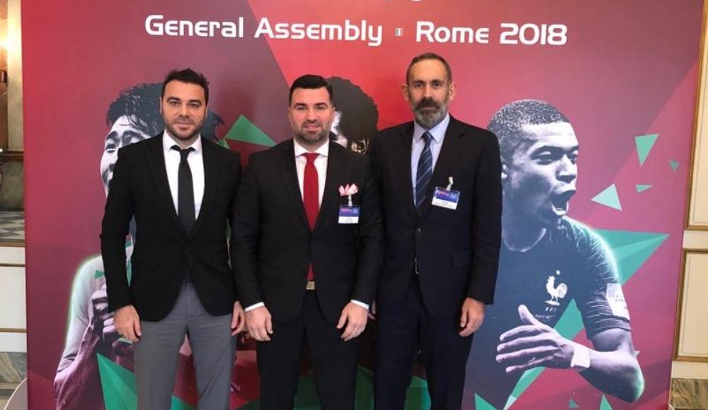 TPFD, 2018 FIFPro Genel Kurul Toplantısı'na katıldı