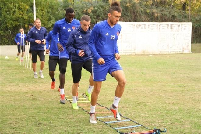 Hatayspor'da Adanaspor hazırlıkları sürüyor
