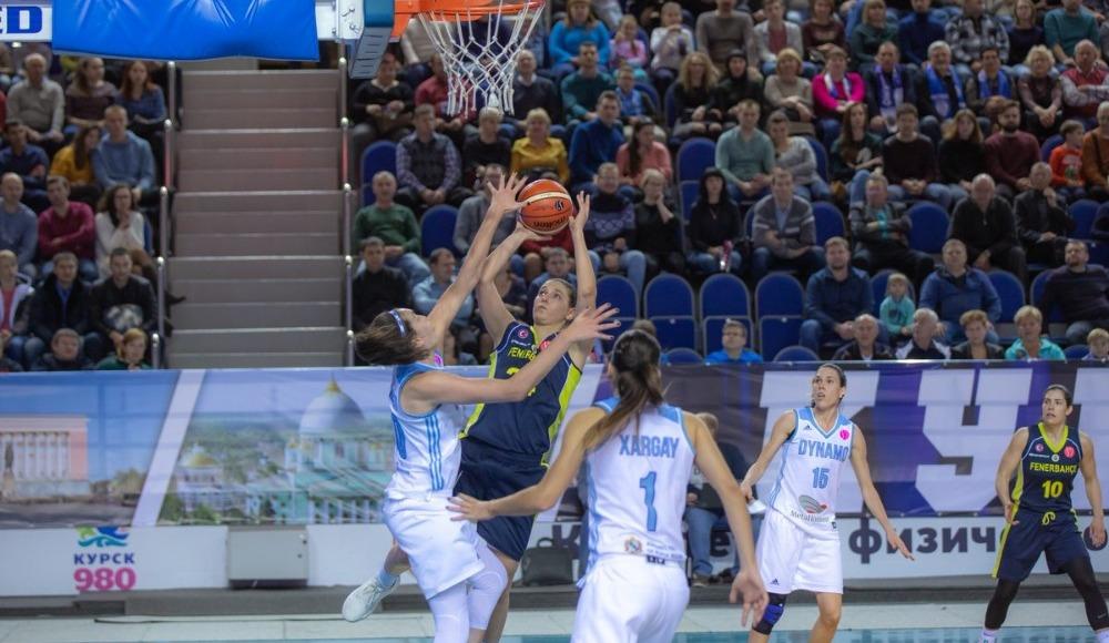 Fenerbahçe Kadın Basketbol Takımı, Dinamo Kursk'a 64-63 yenildi