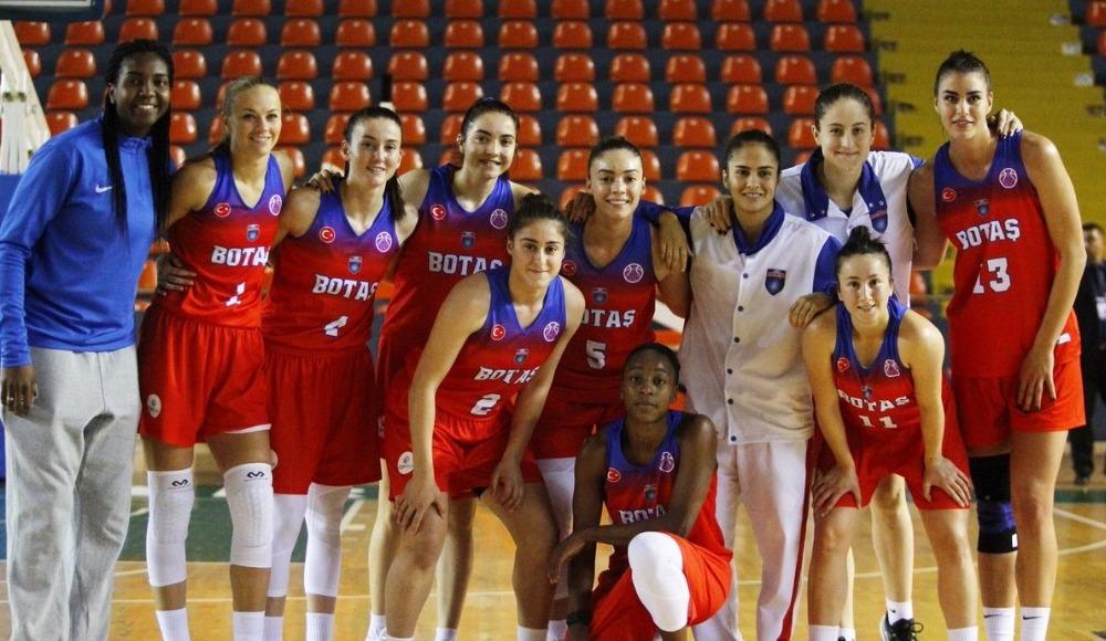 FIBA Kadınlar Avrupa Kupası'nda BOTAŞ, A3 Basket takımını 89-67 yendi
