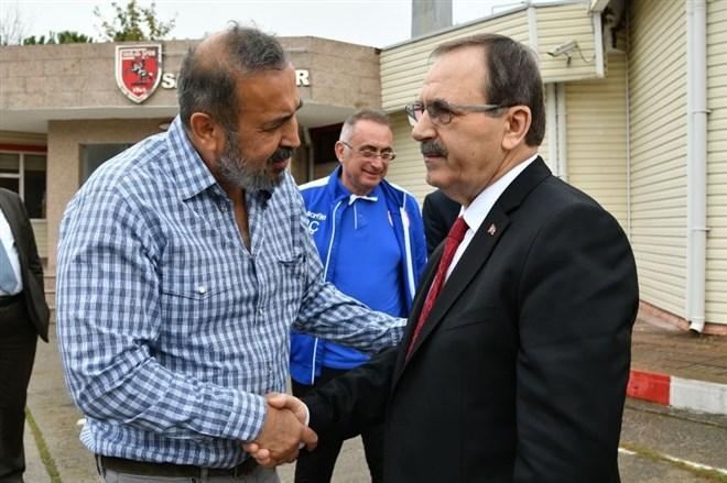 Başkan Zihni Şahin, Samsunspor'u uğurladı
