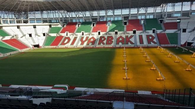 Yeni Diyarbakır Stadyumu kapılarını açıyor