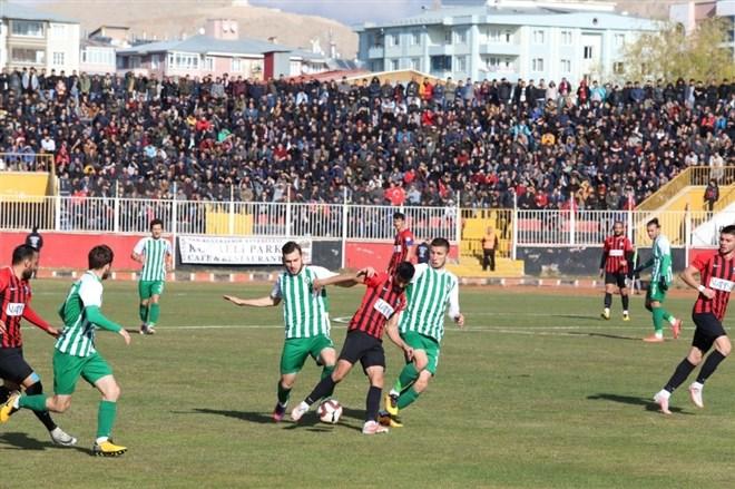 Van, Sultanbeyli Belediyespor ile 1-1 berabere kaldı