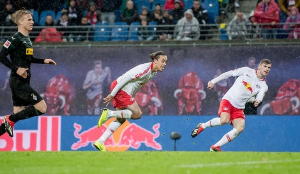 RB Leipzig, Mönchengladbach'ı 2-0 mağlup etti