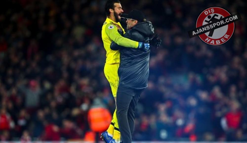 """Klopp, Everton maçı sonrası konuştu: """"Bir anda kendimi Alisson'un yanında buldum"""""""
