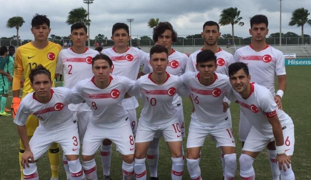 U17 Milli Takımı, Portekiz'e 4-1 kaybetti