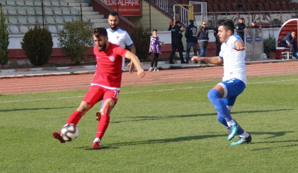 Elaziz Belediyespor: 1 - Düzcespor: 1