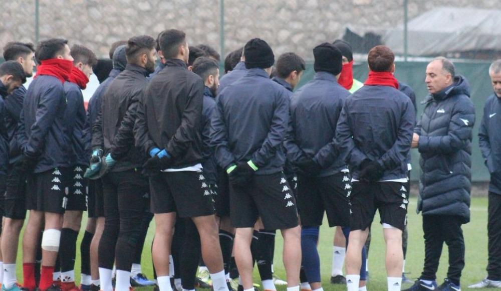 Kardemir Karabükspor'da İstanbulspor maçı hazırlıkları başladı
