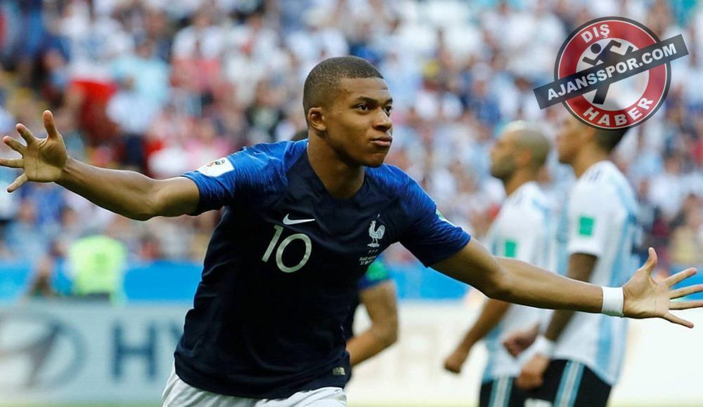 Kylian Mbappe, Ballon d'Or'da en iyi genç oyuncu seçildi