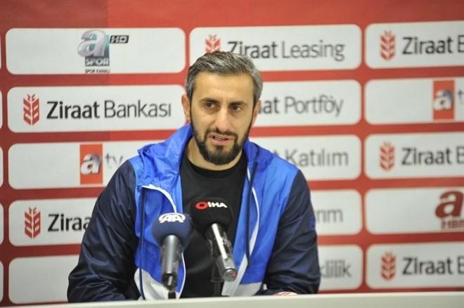 """Serkan Özbalta: """"Buradan 1 puan almak iyidir"""""""