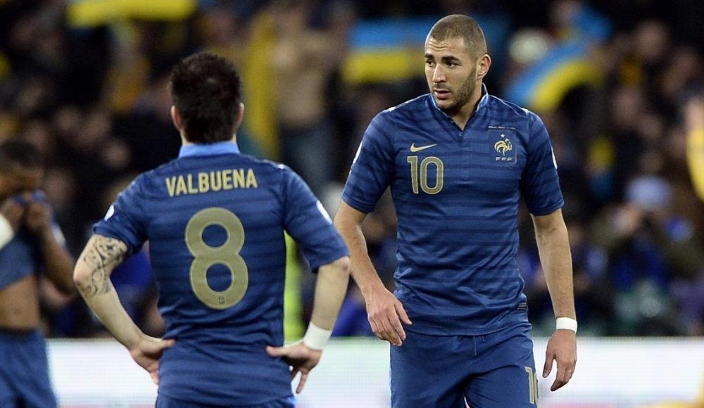 Benzema, Valbuena'ya yine gönderme yaptı!