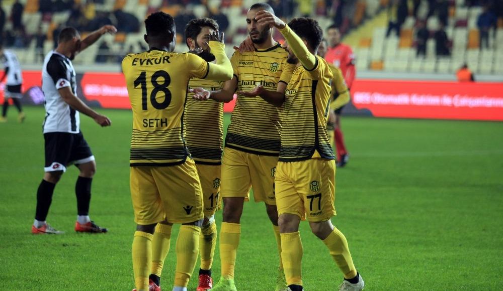 Yeni Malatyaspor, Etimesgut Belediyespor'u mağlup etti