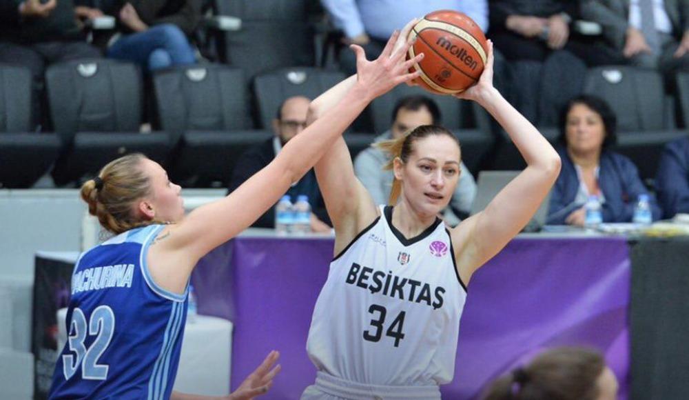 Beşiktaş Kadın Basketbol Takımı, Inventa Kursk'u 94-64 yendi