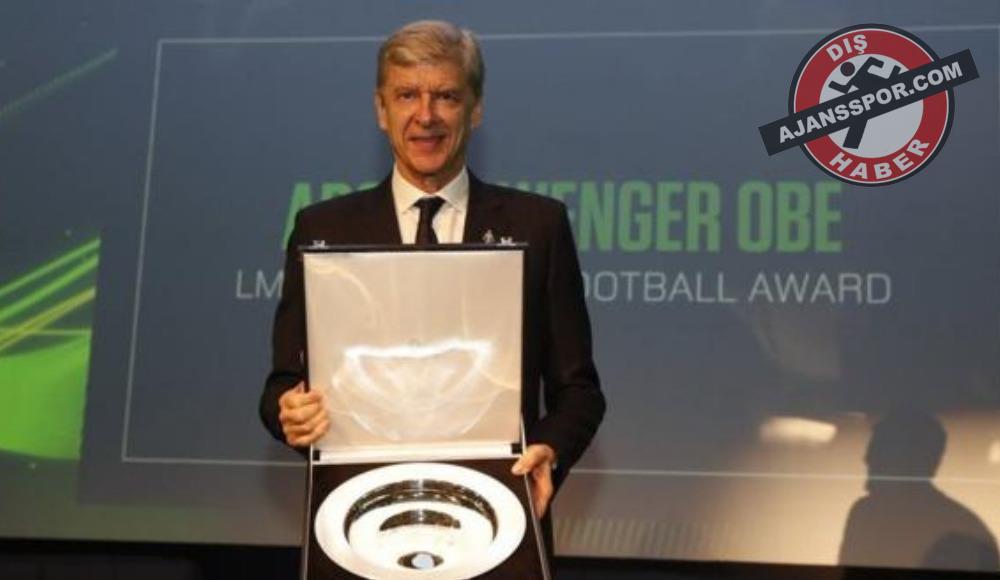 Arsene Wenger'e Lig Menajerleri Birliği'nden ödül!