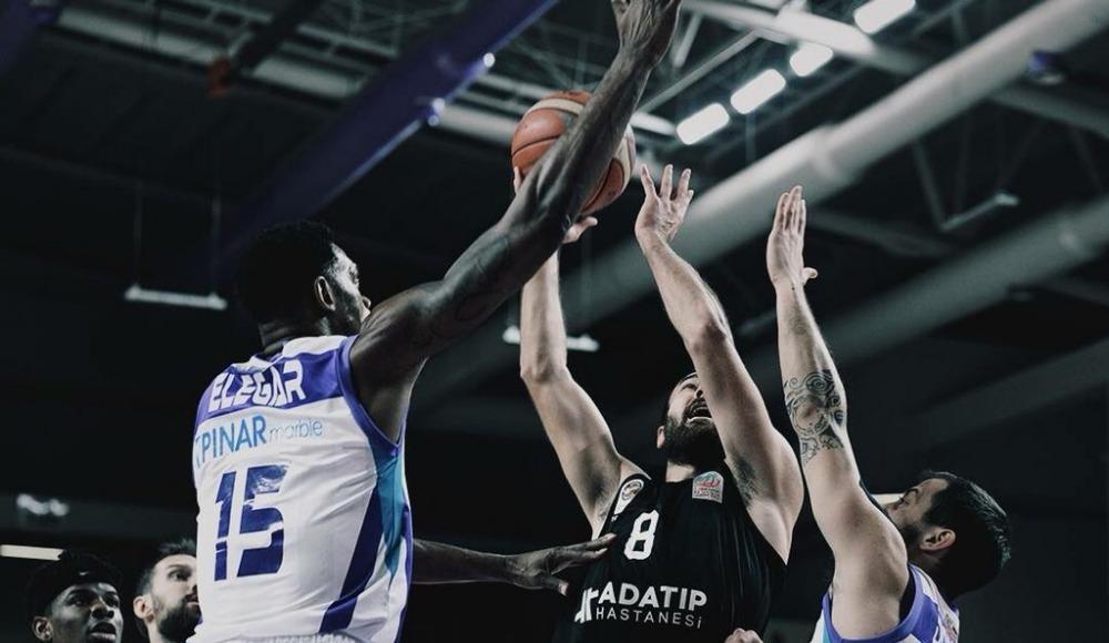 Afyon Belediyespor, Adatıp Sakarya Büyükşehir Belediye Basketbol'u 91-70 yendi