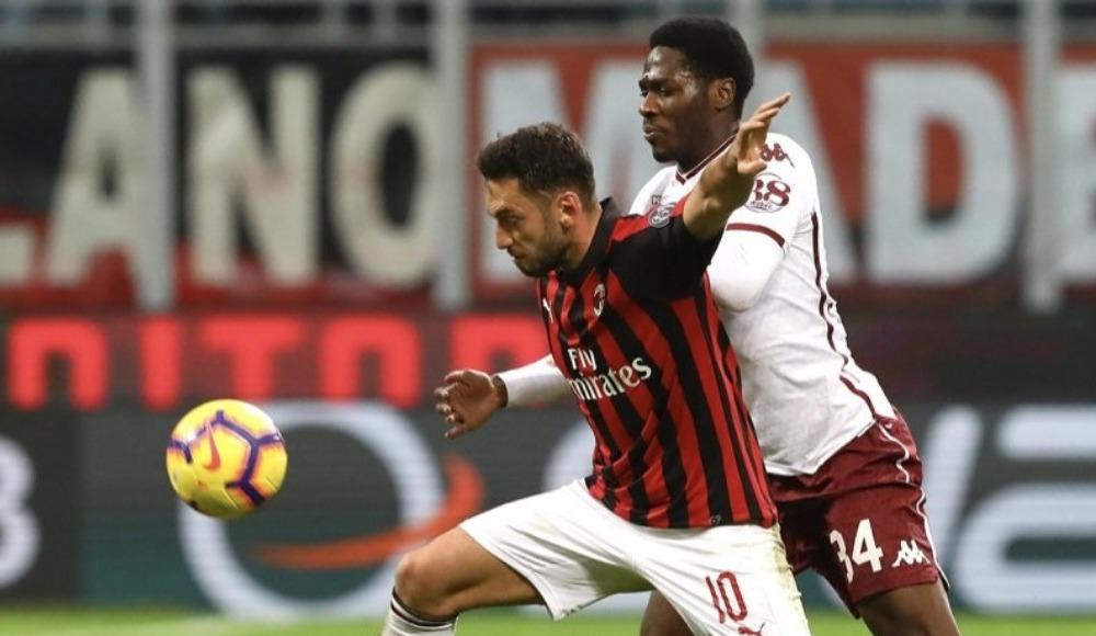 Hakanlı Milan, Torino'yla berabere kaldı