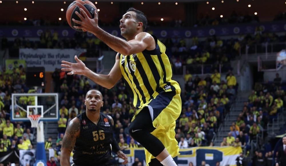 Fenerbahçe, AX Armani Exchange Olimpia Milan'ı 92-85 mağlup etti