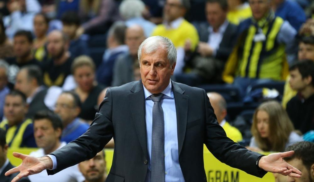 """Zeljko Obradovic: """"Üçüncü çeyrekte daha iyi oynadık"""""""