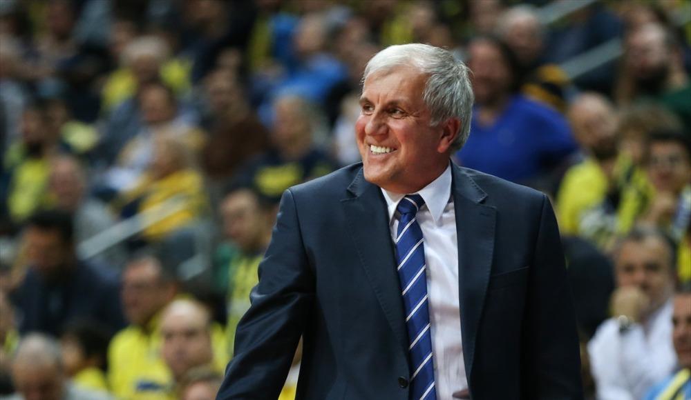 """Zeljko Obradovic: """"Oyuncularımı oynadıkları iyi basketbol için tebrik ediyorum"""""""