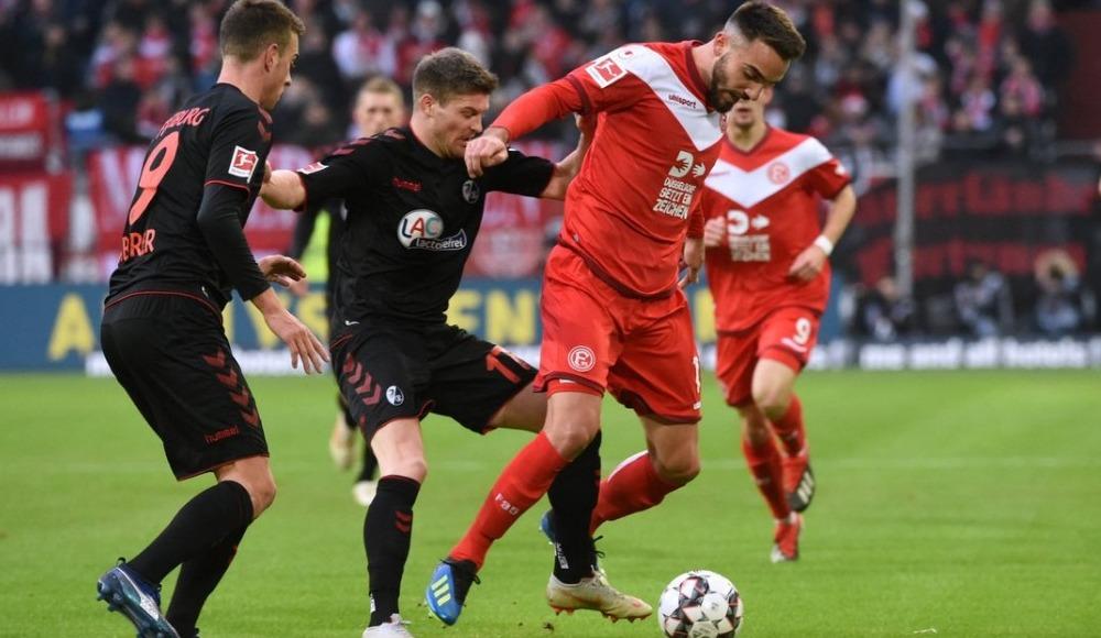 Fortuna Düsseldorf Freiburg'u rahat geçti!
