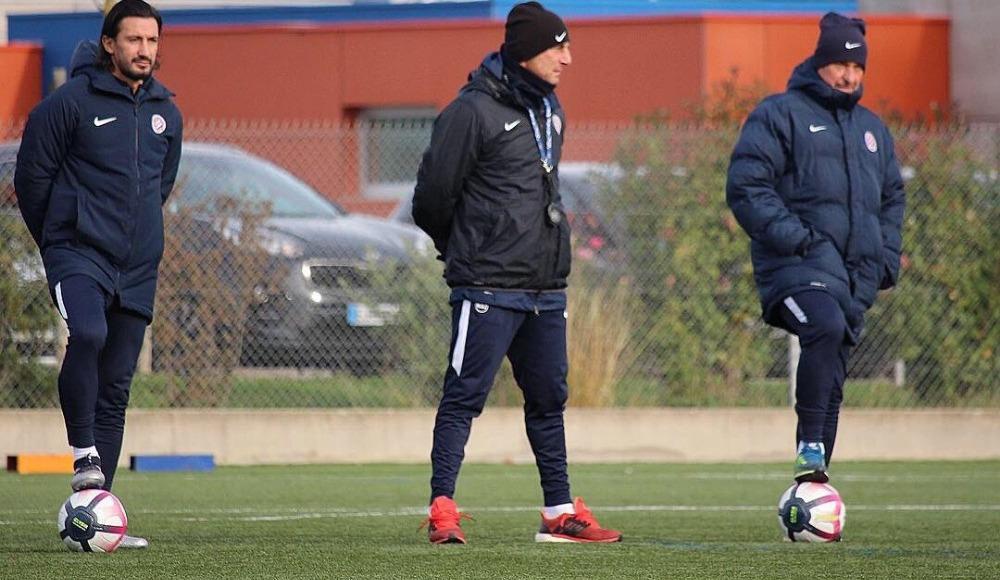 Hasan Kabze, Montpellier antrenmanında